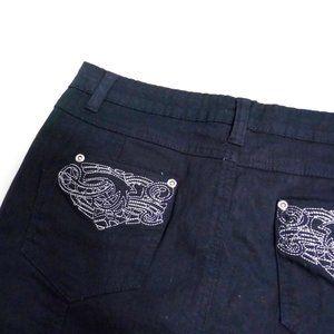 Marie Claire Jeans Denim Skirt sz 7